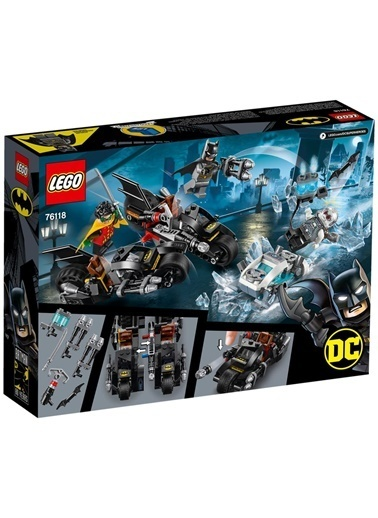 Lego LEGO Super Heroes Mr. Freeze Batcycle Savaşı Renkli